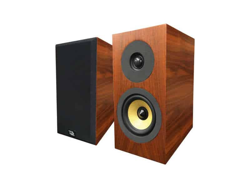 Enceintes Davis Acoustics Courbet N°3 Dark Walnut