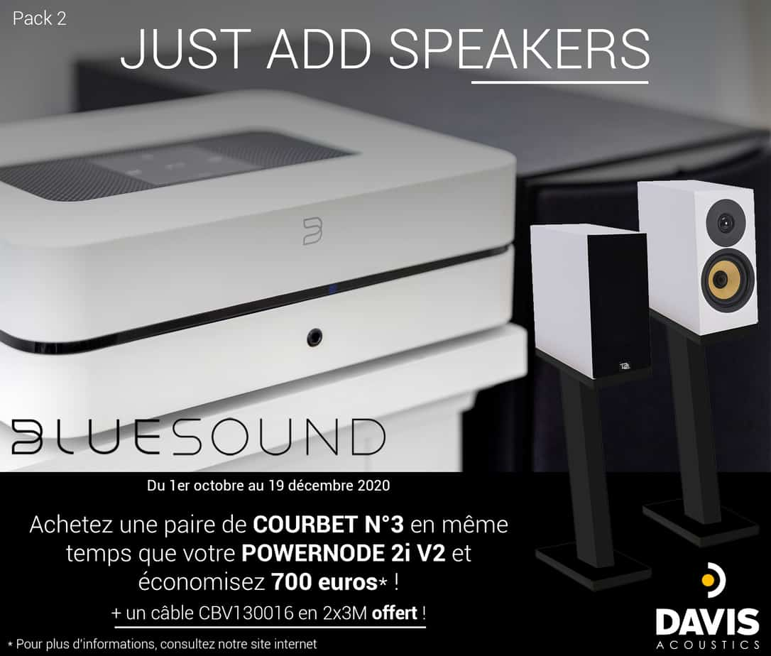 Pack 2 - Just Add Speakers